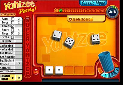 Play Yahtzee Free Online